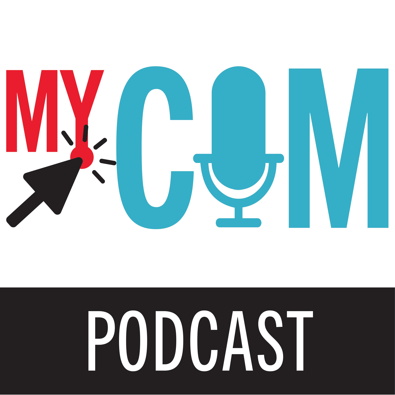 MyCom Podcast logo square PNG