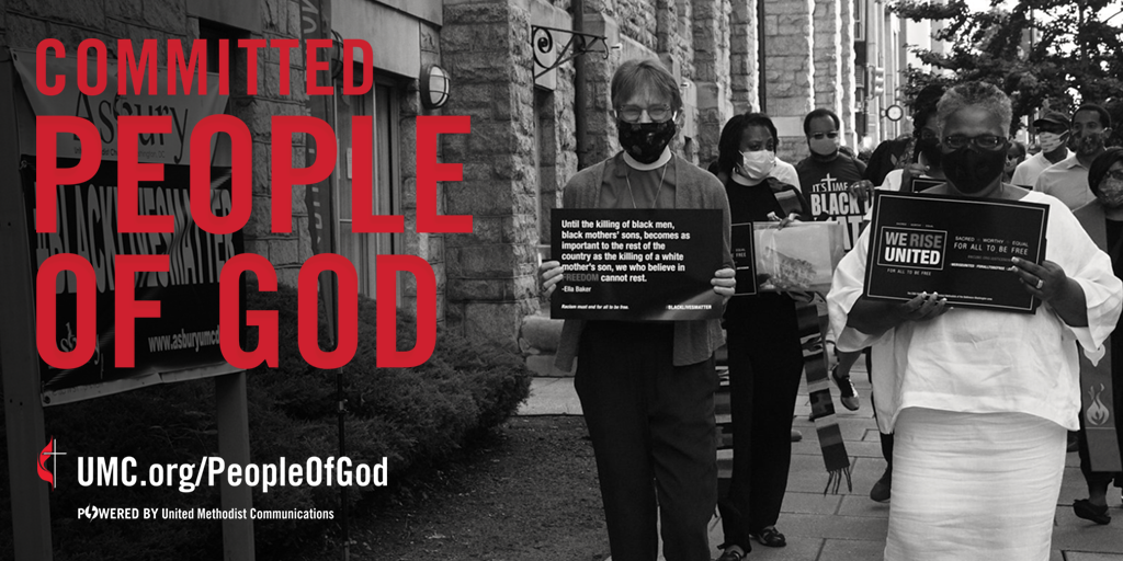 The People of God campaign launched in 2020 as a celebration of the core values that connect the people of The United Methodist Church. We are committed to growing in love of God and neighbor.