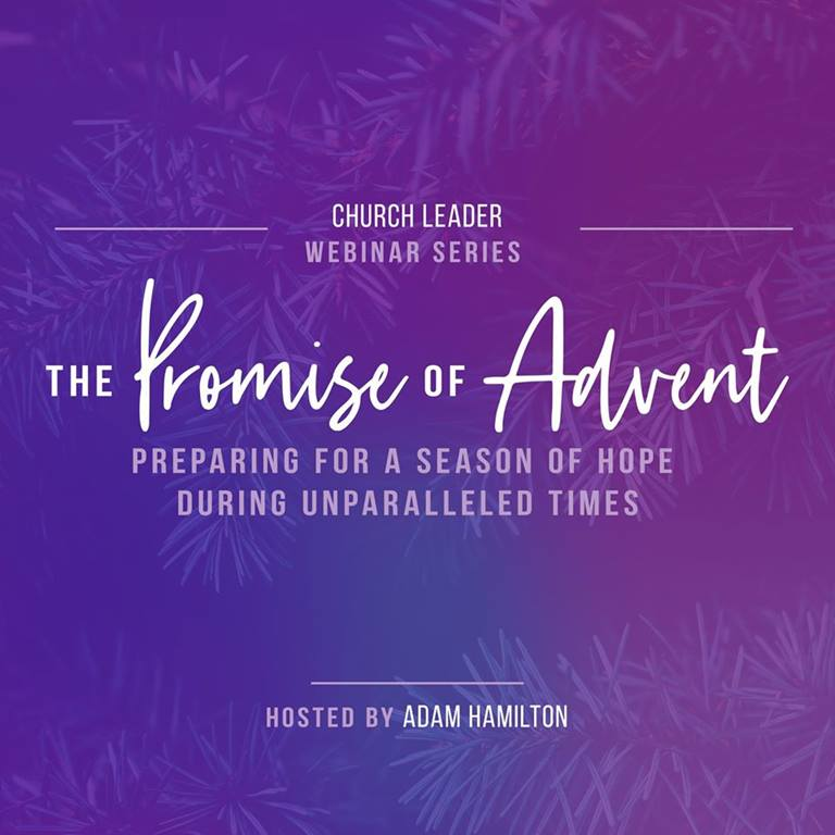 The Promise of Advent Webinar Series. Courtesy of UMPH.