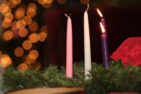 Advent wreath and candles at Sixty-First Avenue United Methodist Church in Nashville, Tenn. UMNS photo by Kathleen Barry Sixty-First Avenue United Methodist Church in Nashville, TN. has 80 members who reach out to the community in a variety of ways. Copyright 2011 by Kats Barry.