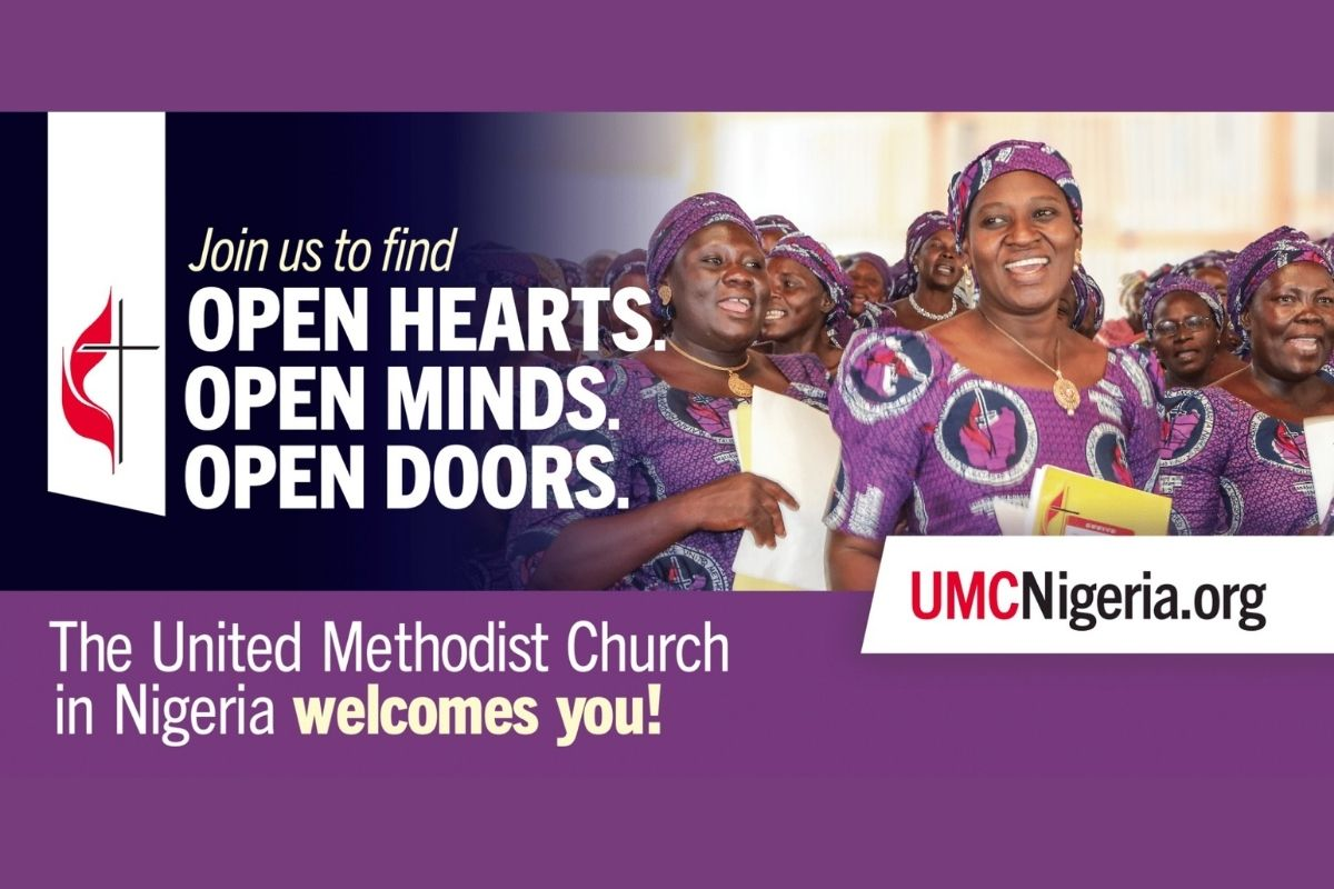 A billboard campaign in Nigeria in Abuja, Gombe and Jalingo helps people to locate a local church through the web address on the billboard. (Image courtesy of United Methodist Communications.)