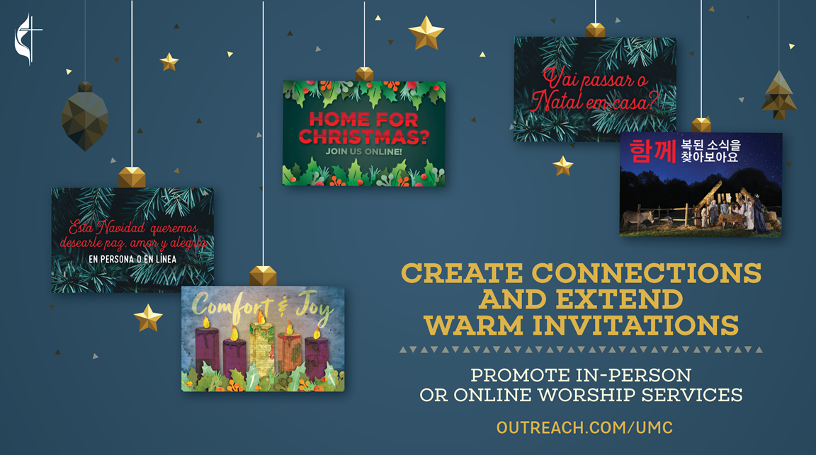 Choose from our Advent collection of customizable outreach tools, including postcards, invitation cards, banners, yard signs, posters and downloadable digital resources.