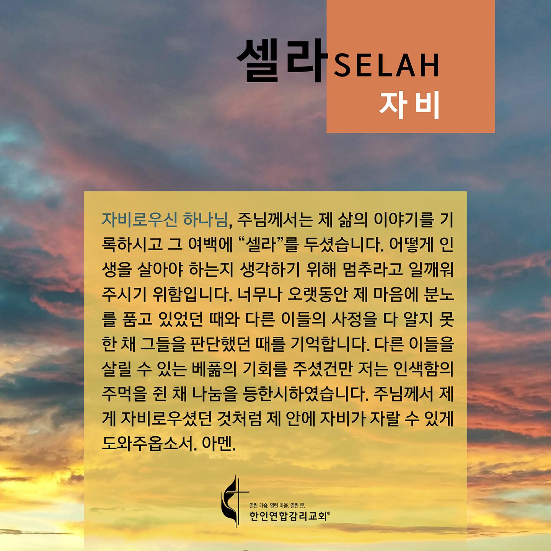 2020 셀라 한국어 플레쉬 카드 자비 1440x1440