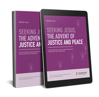 Advent 2020: Seeking Jesus, The Advent of Justice and Peace. Courtesy of Religion and Race.