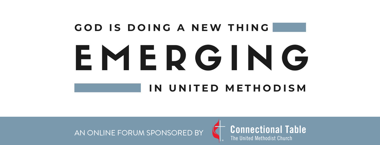 Emerging is a space to invite critical thinking and reflection on what is emerging in Methodism
