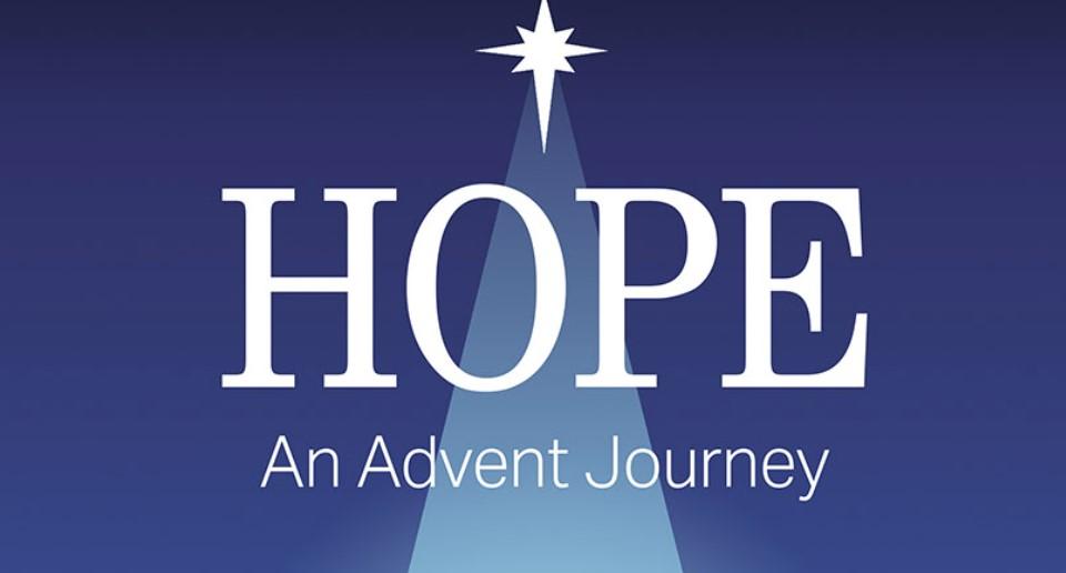 Portada del libro Hope: An Advent Journey de Olu Brown.