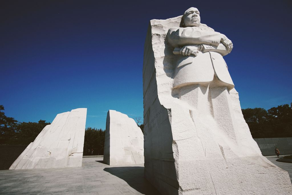 Martin Luther King Jr. Memorial. Washington D.C.