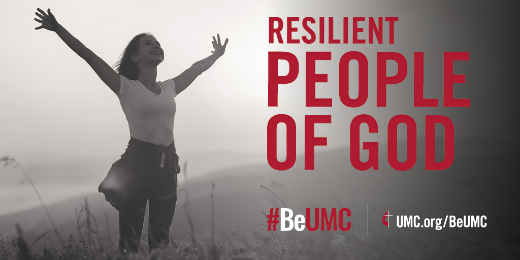 We persevere through trials and face tomorrow with God at our side.  The People of God campaign launched in 2020 as a celebration of the core values that connect the people of The United Methodist Church. We are faithful, missional, committed, spirit-filled, deeply rooted, connected, resilient and diverse people of God.