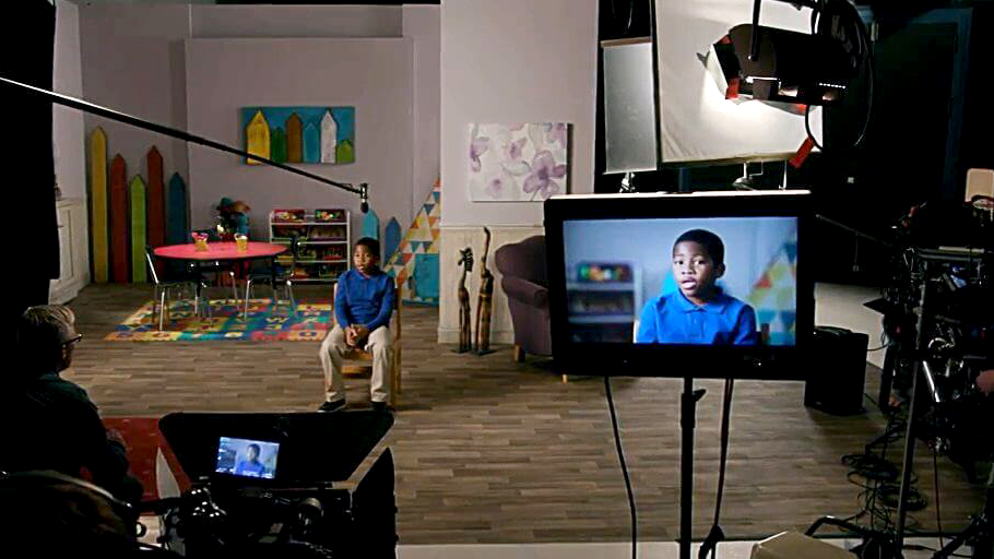The 2017 Miracles advertising campaign for The United Methodist Church was shot and produced in the studio and video facilities of United Methodist Communications.