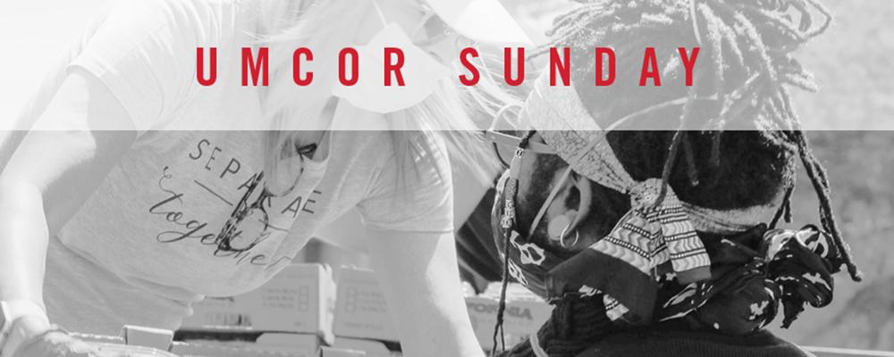UMCOR Sunday is March 14, 2021