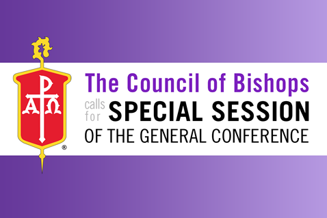 The Council of Bishops issued a call for a Special Session of the General Conference that will be held May 8, 2021 and will be convened online. Illustration by Cindy Caldwell, United Methodist Communications.