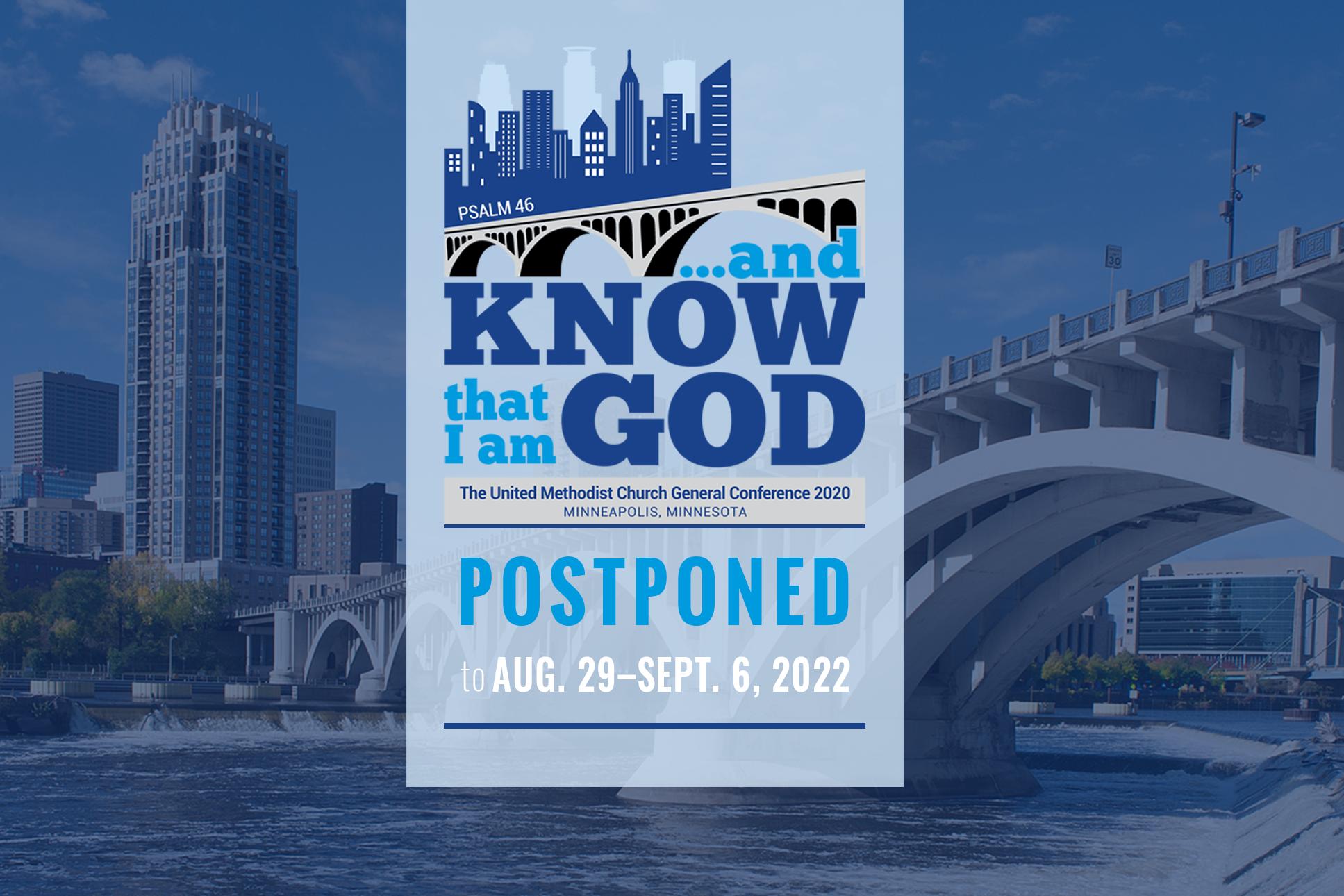 United Methodist Calendar 2022.General Conference Postponed To 2022 Resourceumc