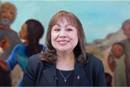 Bishop Minerva G. Carcaño shares personal reflections on strong women in the Bible and her life during a video message for Women's History Month. Screengrab courtesy of the California-Nevada Conference by UM News.
