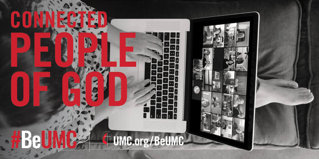 The People of God campaign launched in 2020 as a celebration of the core values that connect the people of The United Methodist Church. We are faithful, missional, committed, spirit-filled, deeply rooted, connected, resilient, justice-seeking and diverse people of God.  Connected: Members around the world share a vital mission and core beliefs.