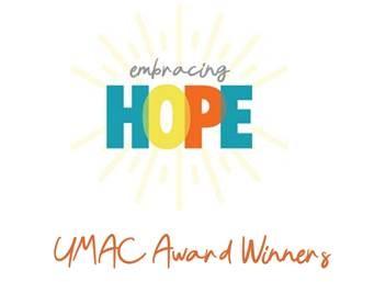 Embracing Hope UMAC Awards Logo