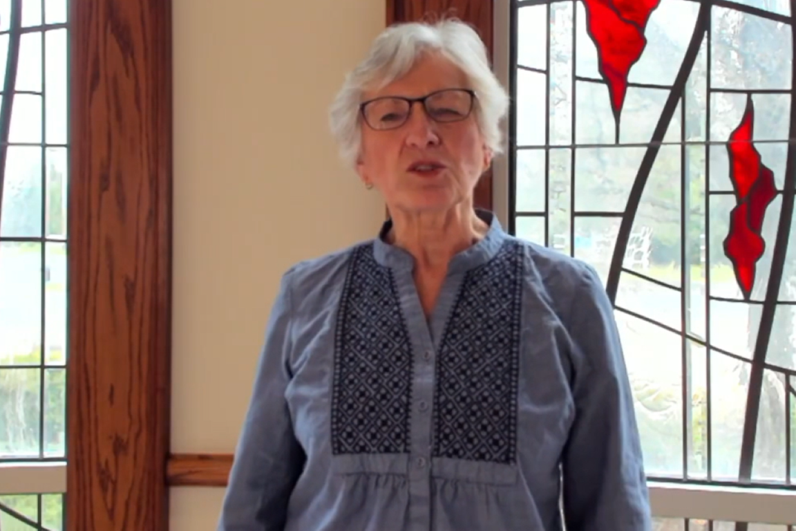 Deacon Sandy Huber at Powell UMC shares best practices from her congregation's re-entry ministry, All-in Community.