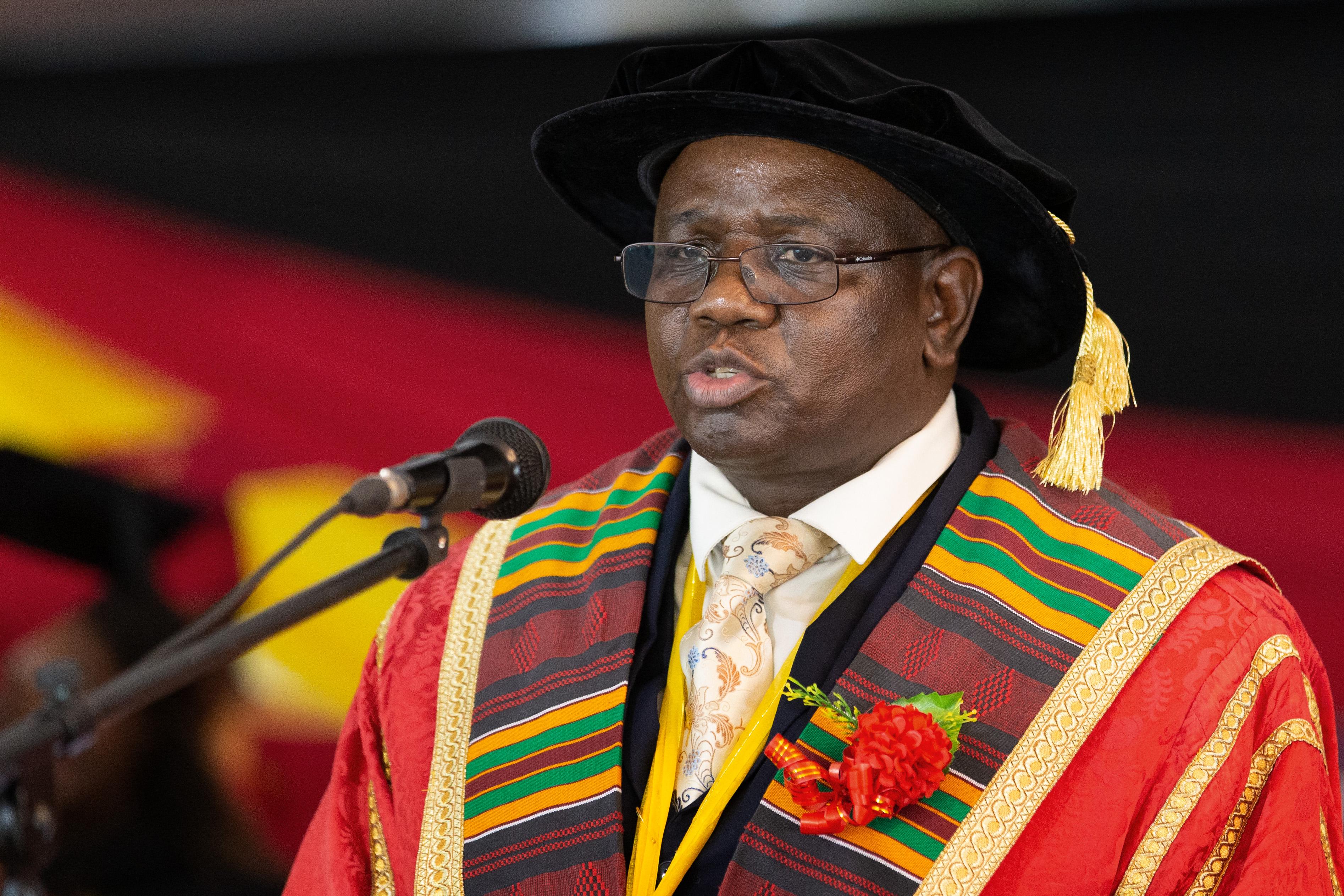 Munashe Furusa, vice chancellor of Africa University. Photo by Kathleen Barry, United Methodist Communications.