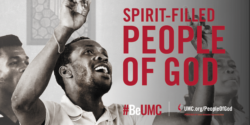 The People of God campaign launched in 2020 as a celebration of the core values that connect the people of The United Methodist Church. We are faithful, missional, committed, spirit-filled, deeply rooted, connected, resilient, justice-seeking and diverse people of God.