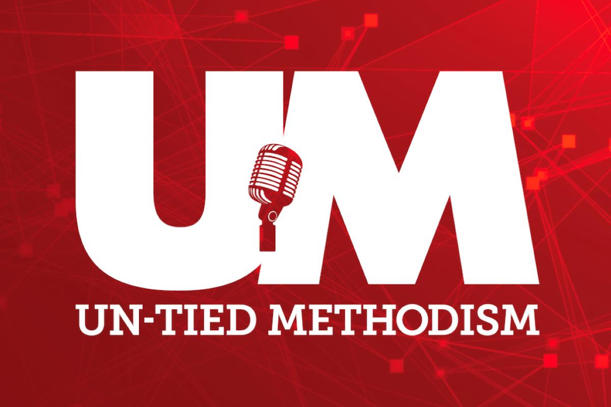 Un-Tied Methodism podcast logo. Courtesy of GCAH.