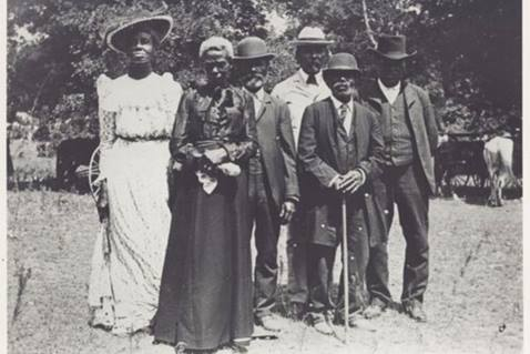 Juneteenth Emancipation Day Celebration, June 19, 1900, Texas; Source: The Portal to Texas History Austin History Center, Austin Public Library.