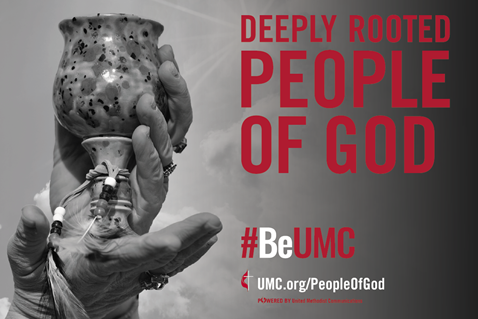 Deeply Rooted People of God #BeUMC campaign image by United Methodist Communications.