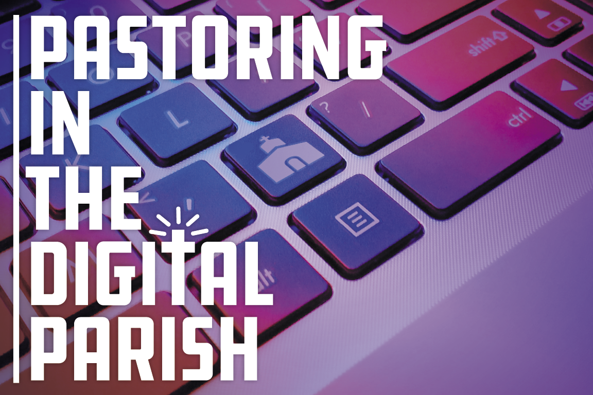 Pastoring in the Digital Parish Podcast Premieres / Graphic by United Methodist Communications.