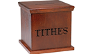 Collection box from Cokesbury.com