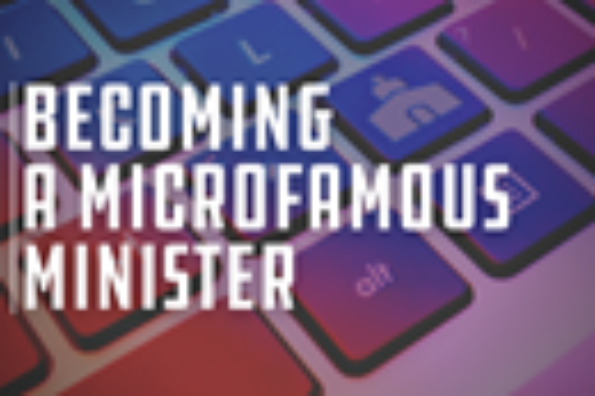 Matt Johnson on becoming a microfamous digital minister