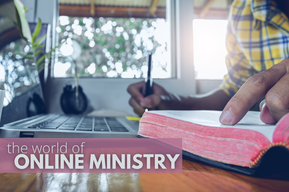 Online Ministry Photo courtesy of United Methodist Communications.