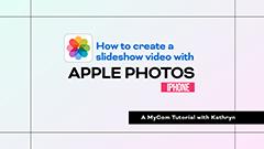 Apple photos tutorial thumbnail image