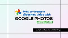 Google photos tutorial thumbnail image
