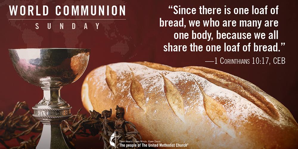 World Communion Sunday Social Media image/MRS
