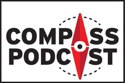 Compass logo for radio