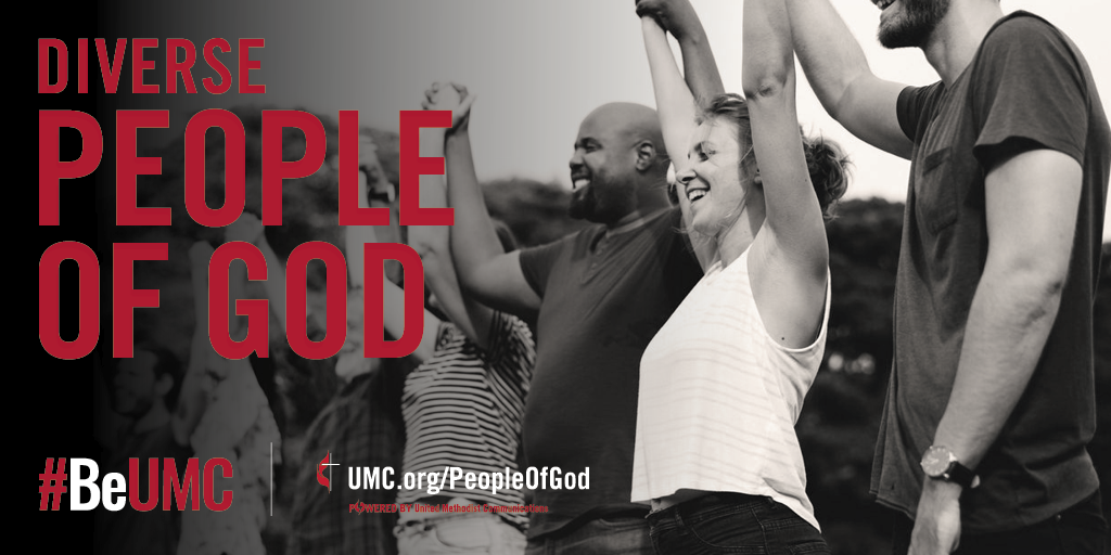 The People of God campaign celebrates the core values that connect the people of The United Methodist Church. We are faithful, missional, committed, spirit-filled, deeply rooted, connected, resilient, justice-seeking and diverse people of God.   We are a diverse people. Though one body, we continue to celebrate individuality and cultural identity.