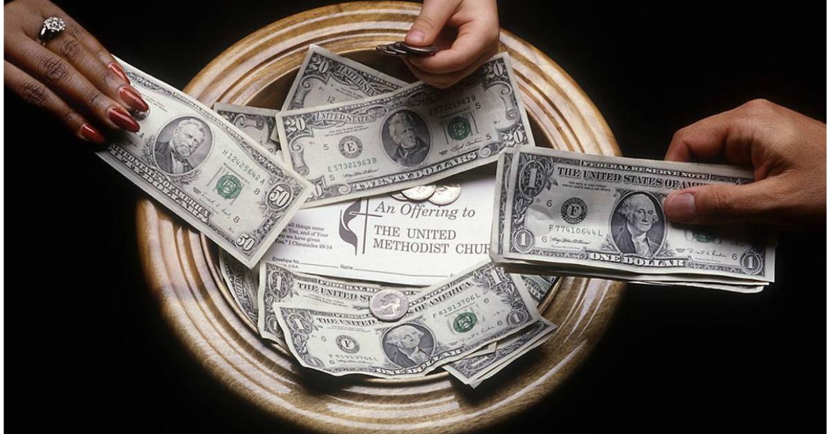 연합감리교회의 연대적 헌금은 재난 구호 및 교육과 같은 세계적인 교단 사역에 자금을 지원한다. 사진: 마이크 두보스, 연합감리교회 공보부.