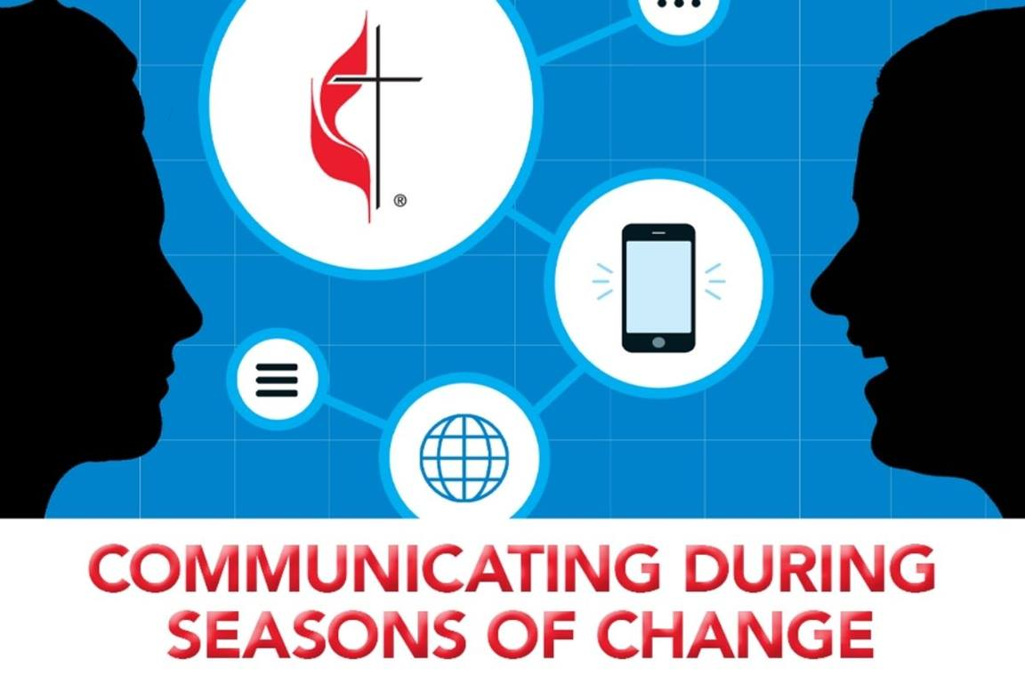 Communicating During Seasons of Change course will run October 18th through November 12th, 2021. (Image courtesy of United Methodist Communications.)